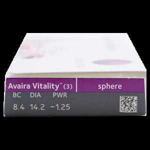 Avaira Vitality - 3 lenzen