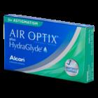 Air Optix Aqua plus Hydraglyde Astigmatisme - 3 lentilles