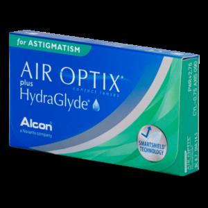 Air Optix Aqua plus Hydraglyde Astigmatism - 3 Linsen