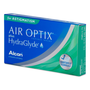 Air Optix Aqua plus Hydraglyde Astigmatism - 6 lenzen