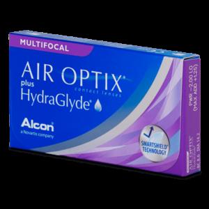Air Optix Aqua plus Hydraglyde Multifocal - 3 lentilles