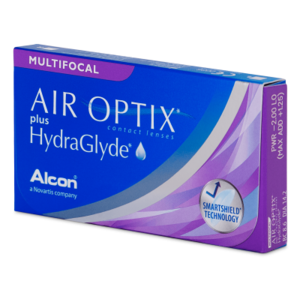 Air Optix Aqua plus Hydraglyde Multifocal - 3 lenzen