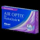 Air Optix Aqua plus Hydraglyde Multifocal - 6 lentilles