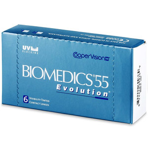 Biomedics 55 Evolution - 6 lentilles