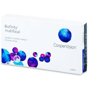 Biofinity Multifocal - 6 Linsen