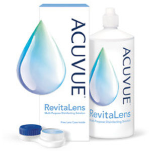Acuvue Revitalens - 2x60ml  + 2 supports lentille
