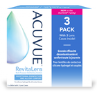 Acuvue Revitalens - 3x360ml