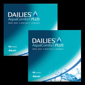 Dailies AquaComfort Plus - 180 lentilles