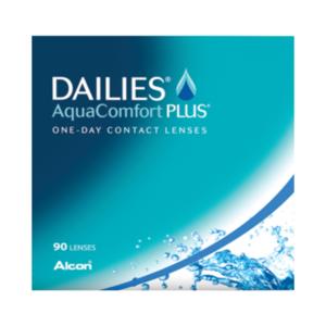 Dailies AquaComfort Plus - 90 Linsen