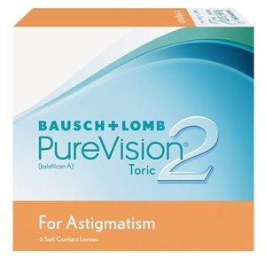 Purevision 2 Astigmatism - 6 lentilles