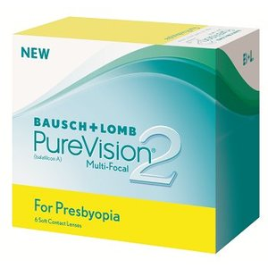Purevision 2 Multifocal (Presbyopia) - 6 lenses