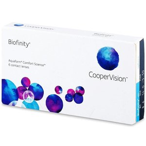 Biofinity - 6 Linsen