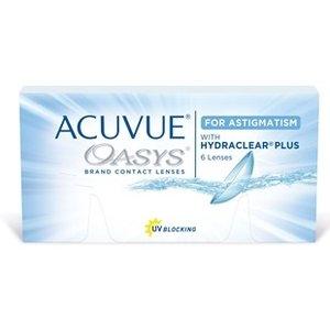 Acuvue Oasys Astigmatism - 6 lentilles