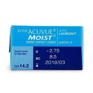 Acuvue 1-Day Moist - 30 lentilles