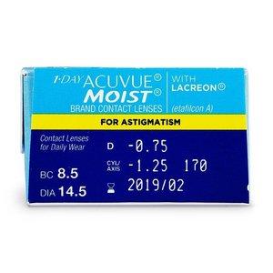Acuvue 1-Day Moist Astigmatism - 90 lenses