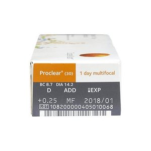 Proclear 1-Day Multifocal - 30 lentilles