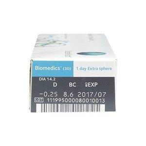 Biomedics 1-Day Extra - 30 lentilles