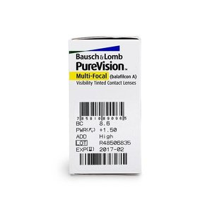 Purevision Multifocal - 6 Linsen