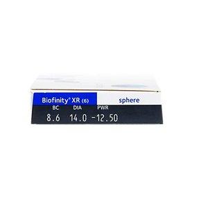 Biofinity XR - 6 lentilles