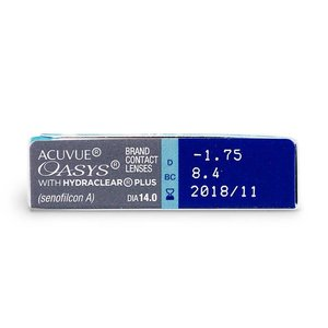 Acuvue Oasys - 12 Linsen