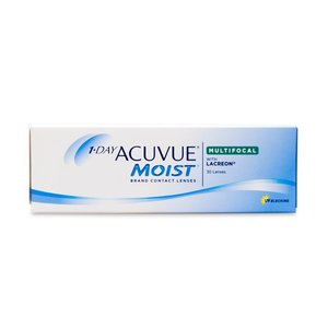 Acuvue 1-Day Moist multifocale - 30 lentilles