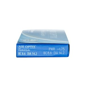 Air Optix Plus Hydraglyde - 6 lentilles