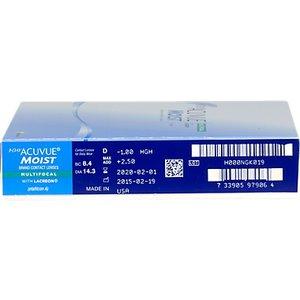 Acuvue 1-Day Moist Multifocal - 90 lenzen