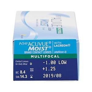 Acuvue 1-Day Moist Multifocal - 30 lenses