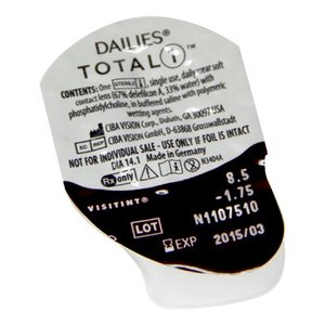 Dailies  Total 1 - 30 lenzen
