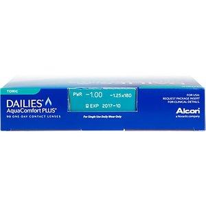 Dailies  AquaComfort Plus Toric - 90 lenzen