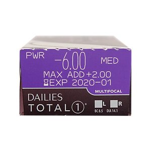 Dailies Total 1 Multifocal - 30 lentilles