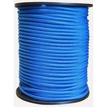 100 meter trapezekoord 6 mm blauw