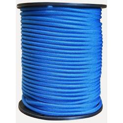 Trapezekoord 6 mm per meter 6mm blauw