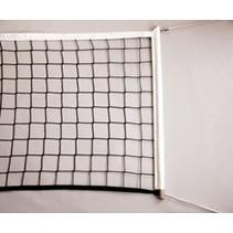 Volleybalnet voor recreatief gebruik met stokken