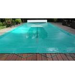 Zwembad afdekzeil PVC kleur blauw voor een bad van 4x8 meter