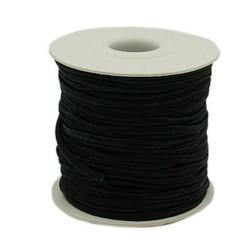 Nylon draad 3 mm zwart 100 meter