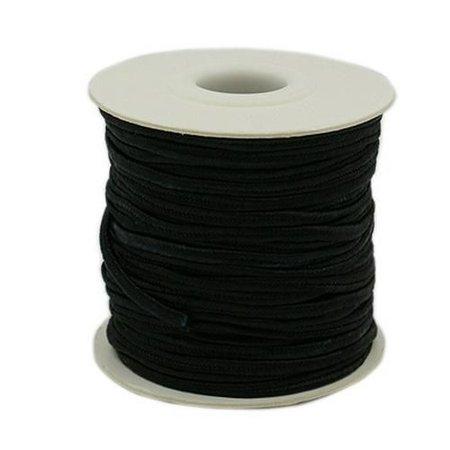 Universeel Nylon draad 3 mm zwart 100 meter