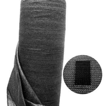 Windbreekgaas / Winddoek per strekkende meter zwart