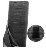 Windbreekgaas / Winddoek zwart 1.50x50 mtr