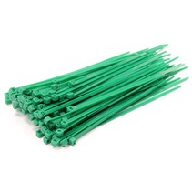 Tie-Wrap kabelbinder 4.80 * 300 mm. 100 stuks groen