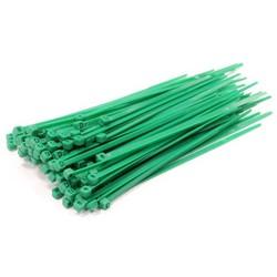 10 pack Tie-Wrap kabelbinder 4.80 * 300 mm. - groen