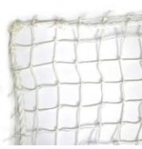 Nylon net geknoopt wit 27mm maas