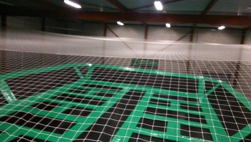 Maatwerk netten voor een ballenvanger