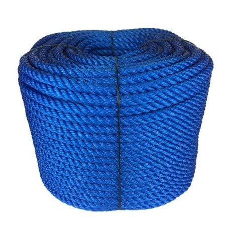 Huismerk  touw - Roop 10 mm PPE touw - blauw