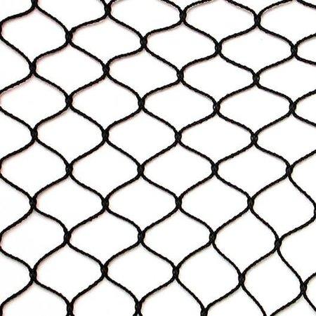 Knooploos tuinnet - 28m maas  van nylon draad