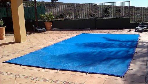 Zwembadnet in een aantal standaard maten beschikbaar