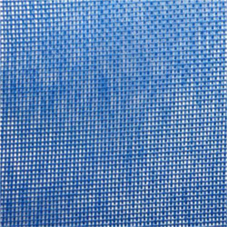 Zwembad afdeknet kleur blauw per M2