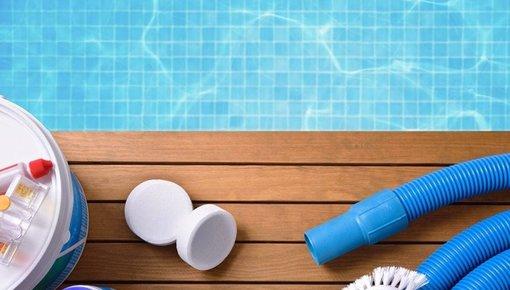Onderhoudsmiddelen en wintermiddelen voor zwembaden