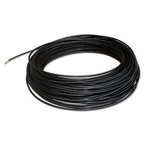 Staaldraad 6mm per meter zwart