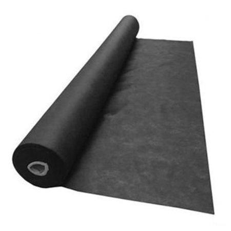 Windbreekgaas / Winddoek 120cm  hoog zwart
